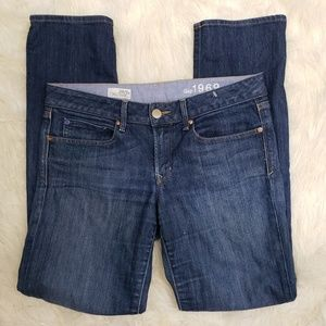 GAP 1969 Size 6 Real Straight Leg Jeans